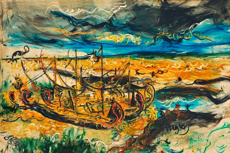 Affandi, the maestro of expressionist painter from ...