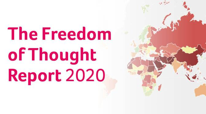 Humanist International's 2020 Freedom of Thought Report