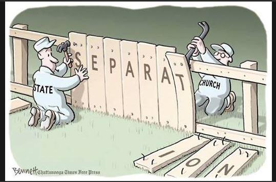 Secular Wall: Good Fences Make Good Neighbours
